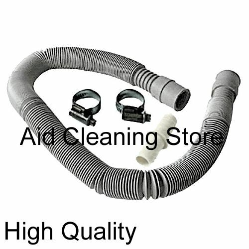 how to extend a washing machine drain hose