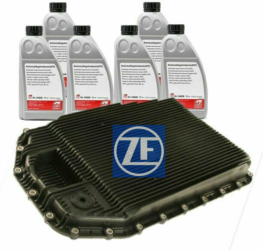 Oem Zf Automatic Transmission Filter Kit Amp Oil Pan With 10