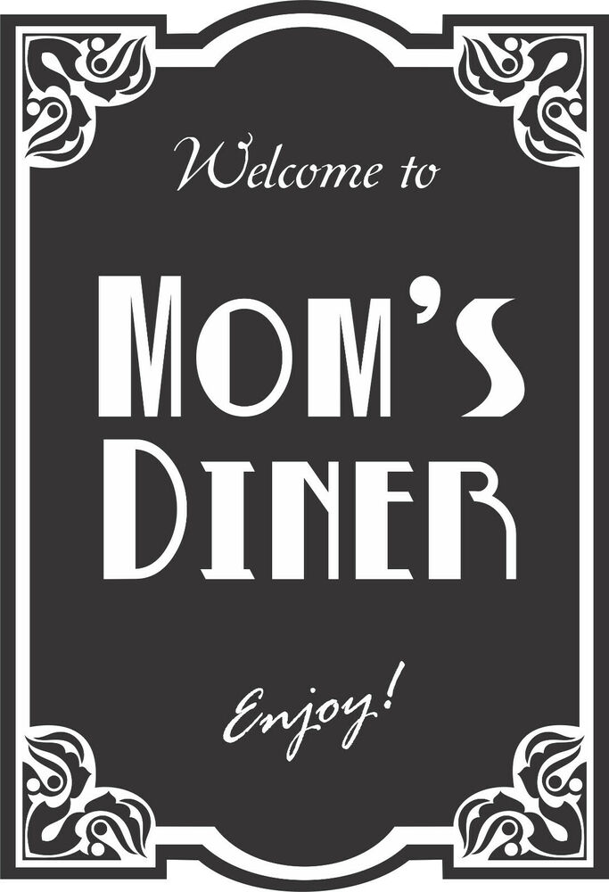 Mom S Kitchen Decal