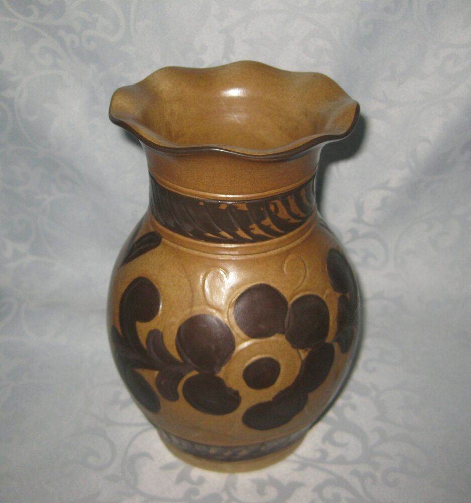 vase luisenburg keramik bavaria germany keramik pottery hhj ebay. Black Bedroom Furniture Sets. Home Design Ideas