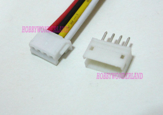 4 pin header cn2 wiring harness jst 1.5mm zh 4-pin female connector with wire & male ... #10