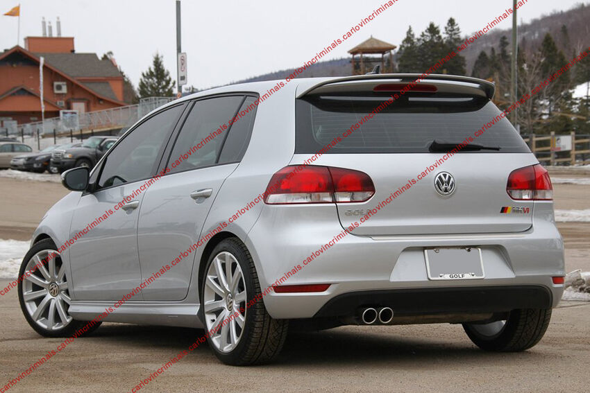 vw golf mk6 mk vi spoiler ebay. Black Bedroom Furniture Sets. Home Design Ideas