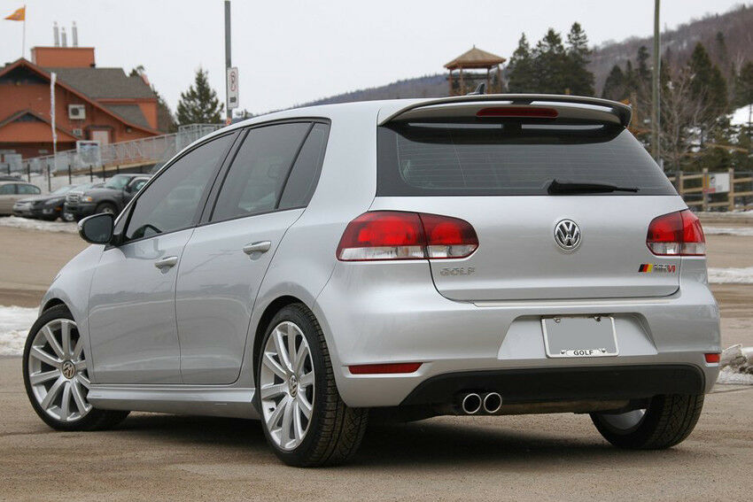 vw golf 6 vi aileron becquet 2008 2012 ebay. Black Bedroom Furniture Sets. Home Design Ideas