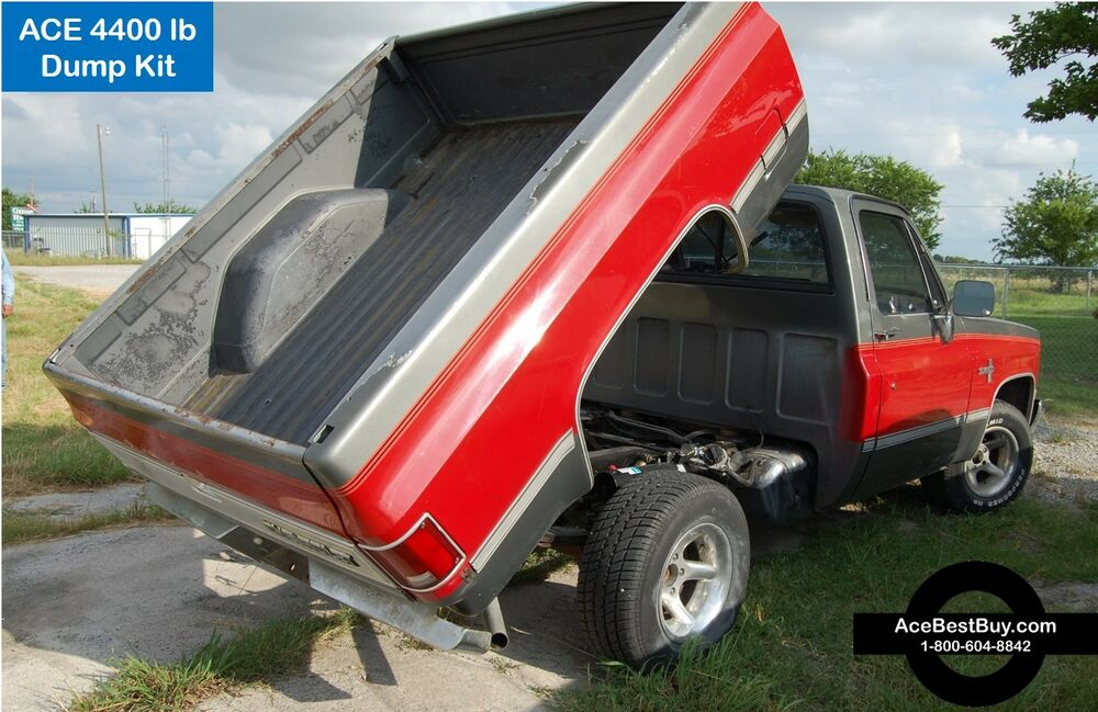 4400 Lbs Pickup Dump Bed Hoist Kit Turn Into Dump Truck 22 Ton