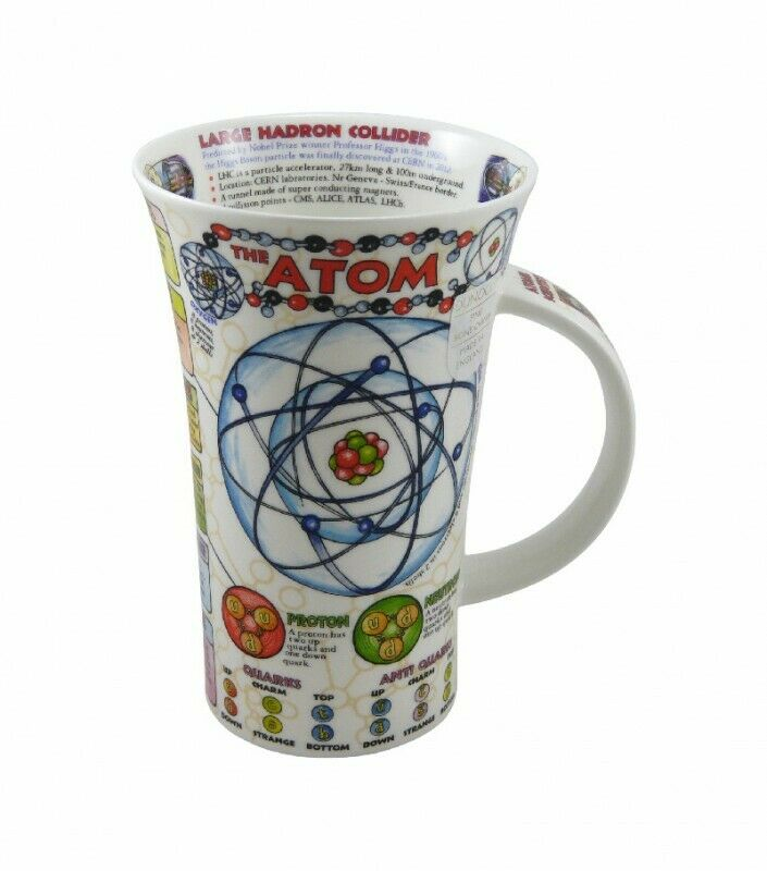 dunoon tasse fine bone china porzellan glencoe the atom 500ml ebay. Black Bedroom Furniture Sets. Home Design Ideas