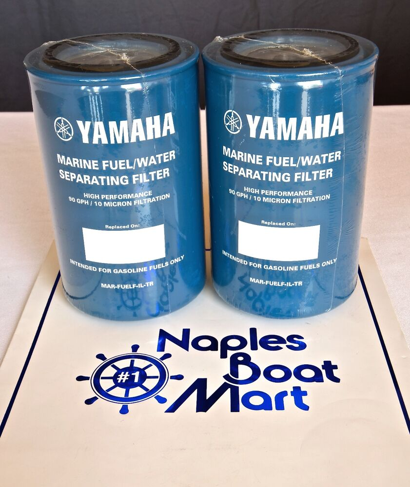 Yamaha 2000 Water Separating Auto Electrical Wiring Diagram Fuel Separator Filter Outboard Mar
