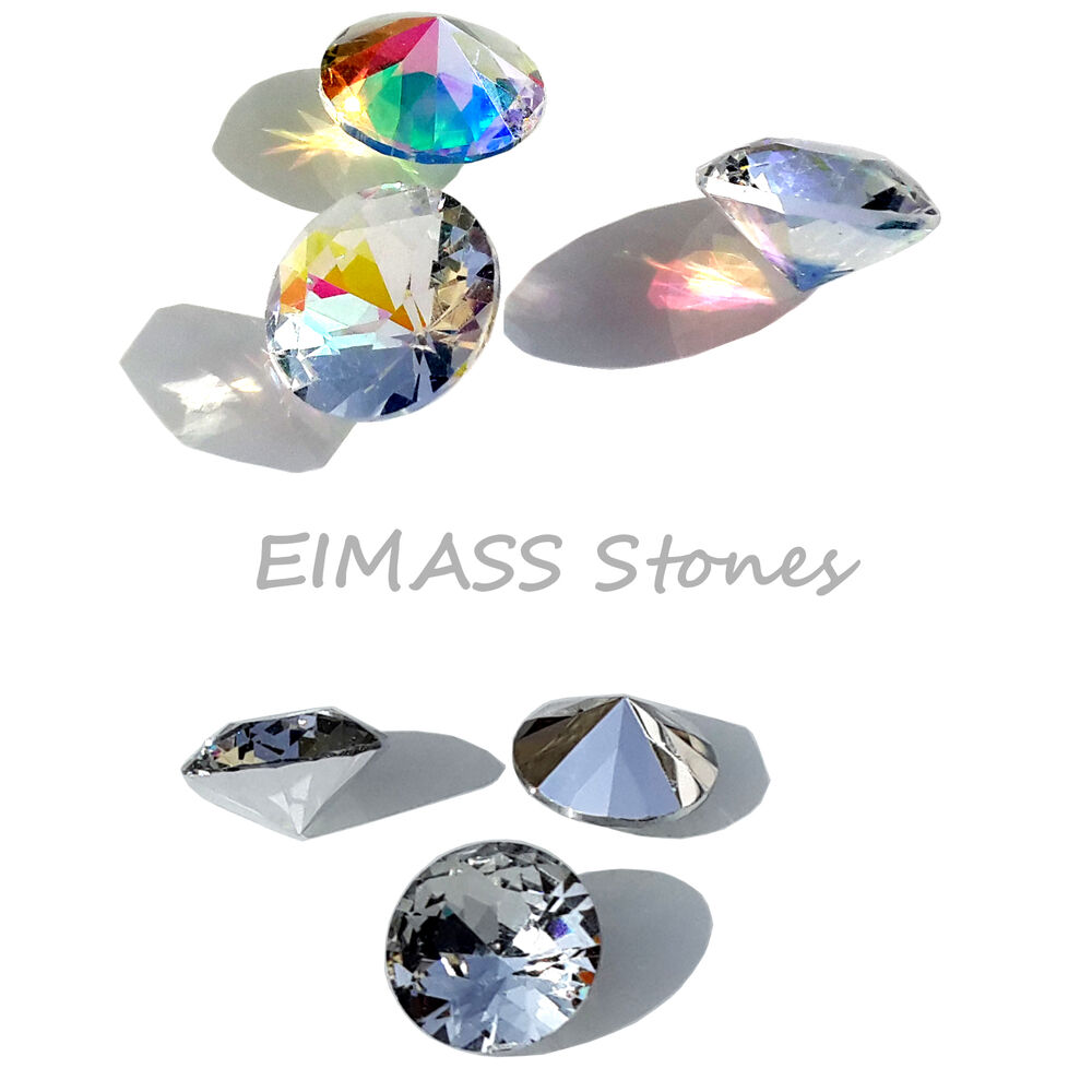 Eimass 3595 cut glass foiled unfoiled chatons table diamonds gems crystals ebay - Tagliare vetro finestra ...