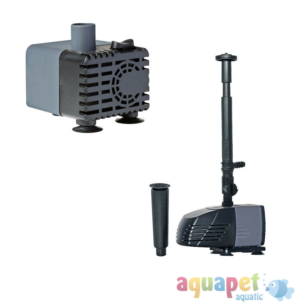 heissner submersible pump indoor outdoor 300 600 pond