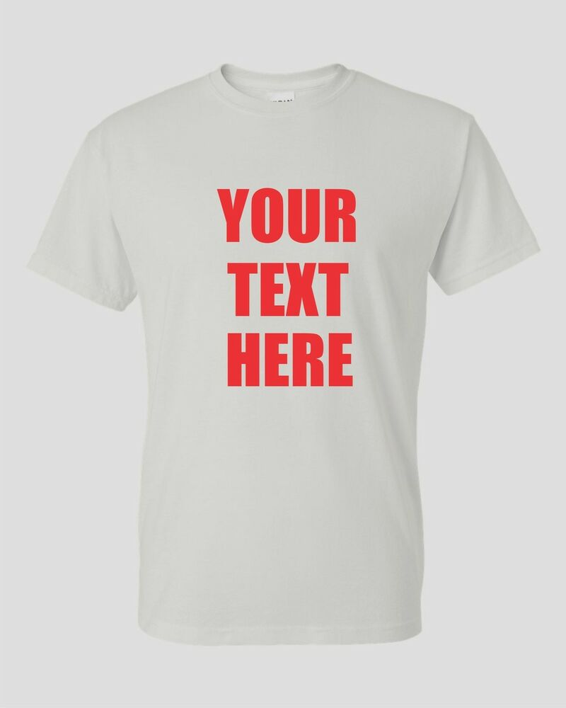 Custom personalized t shirt your text fund raiser event for Custom business logo t shirts