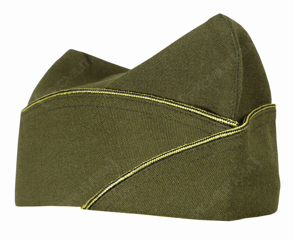 WW2 US Army Officers Piped GARRISON SIDE CAP - All Sizes ...