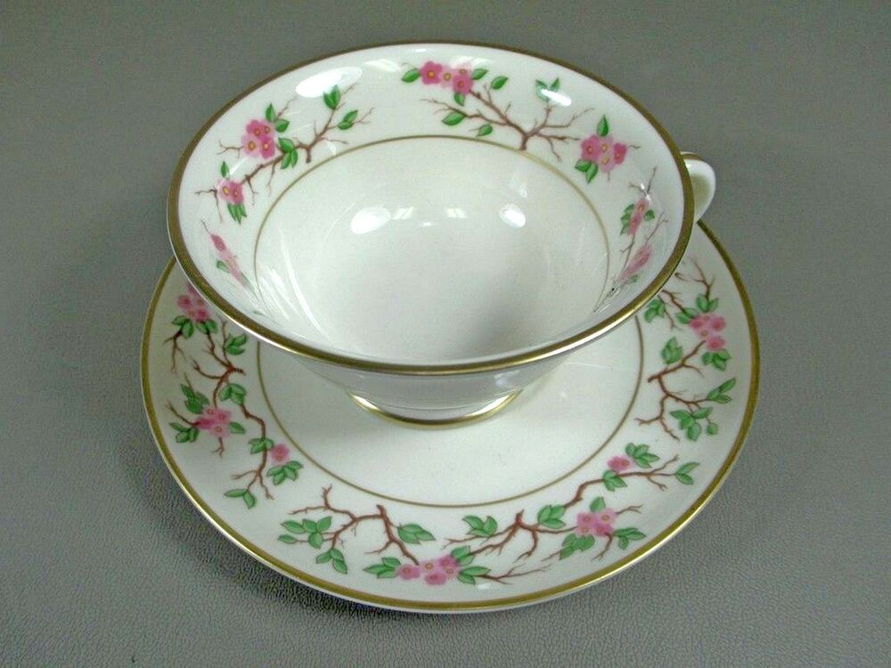 Reduced Franciscan Fine China WOODSIDE Cup Saucer Set S Multiple Ava