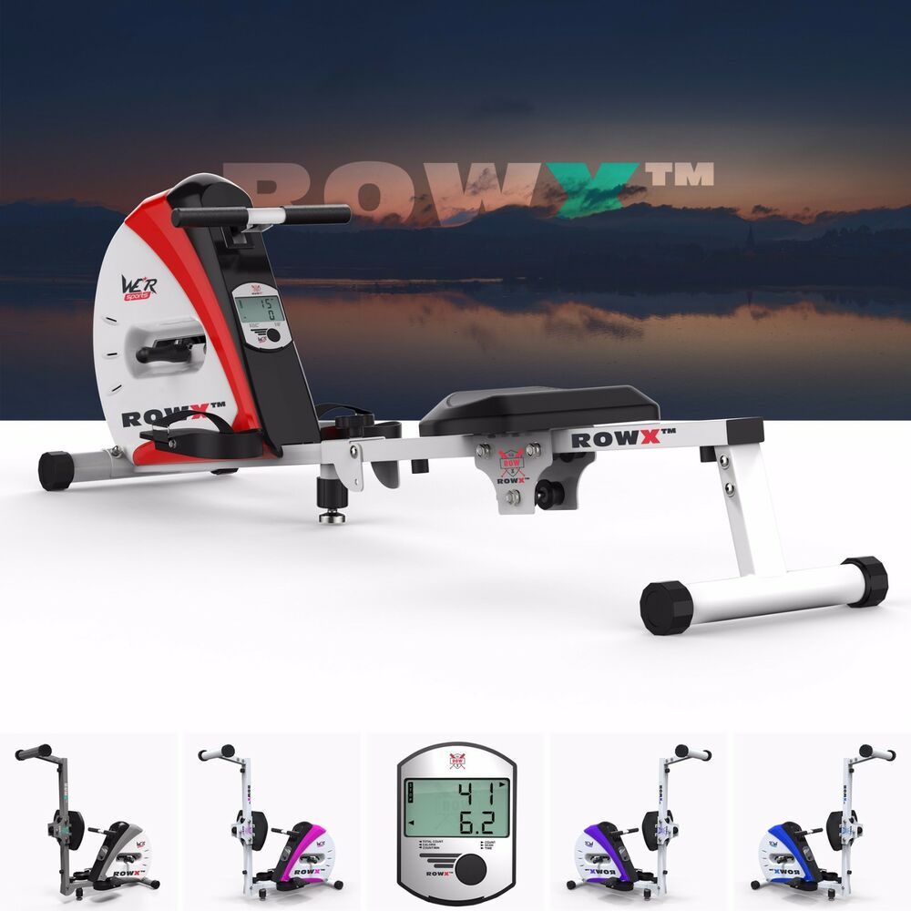 We R Sports Premium Rowing Machine Body Toner Home Rower