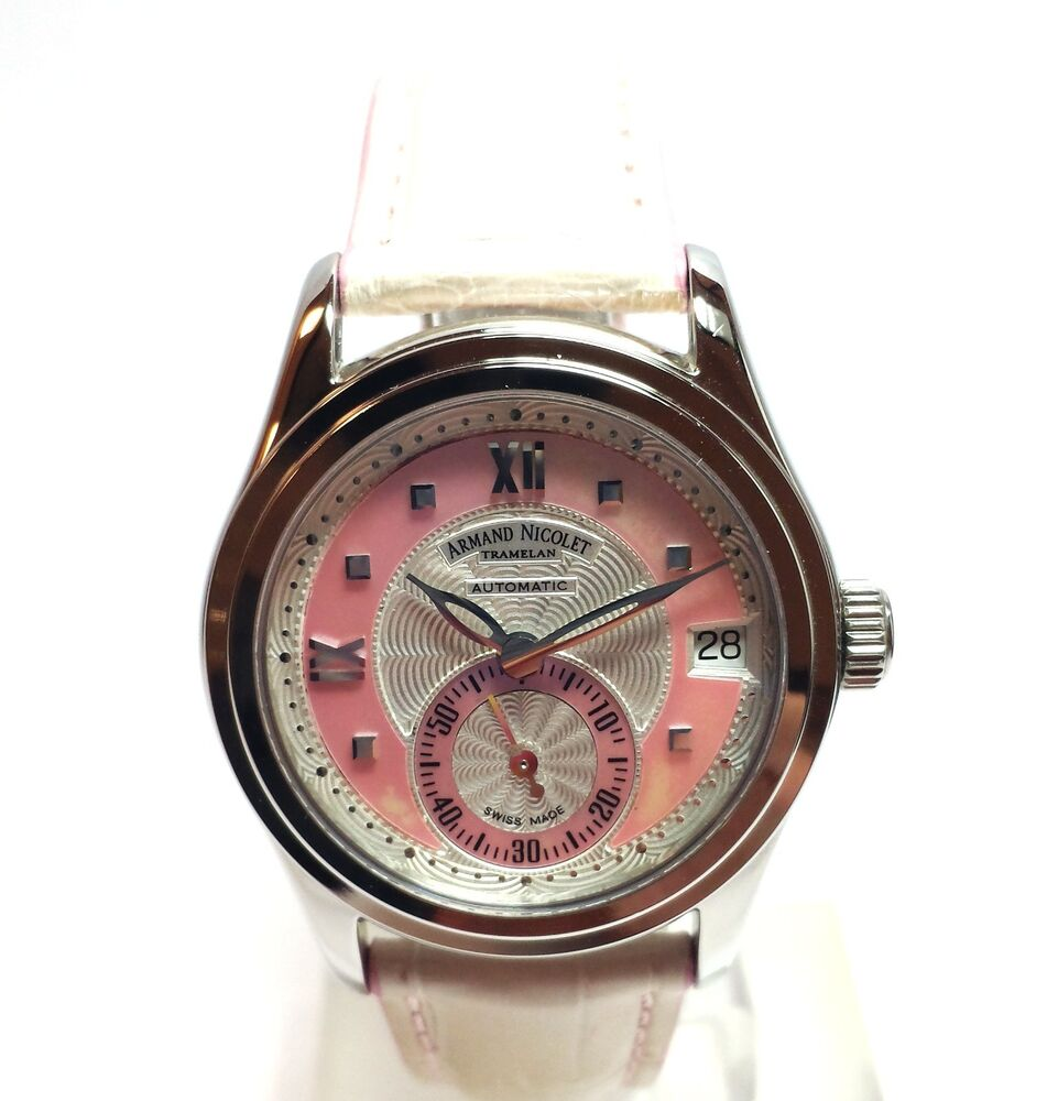 Armand nicolet mother of pearl ladies watch new ebay for Armand nicolet watches