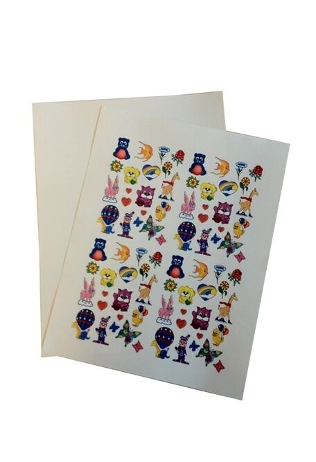 1 x diy temporary tattoos decal paper adhesive sheets for Temporary tattoo printer