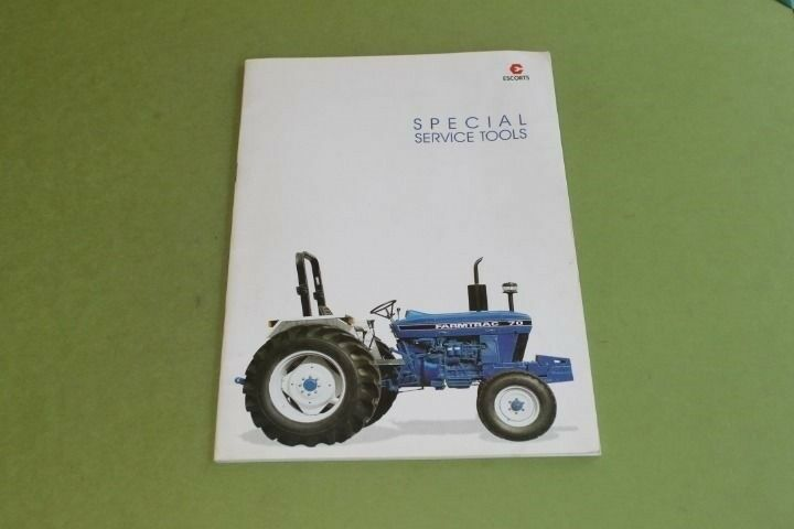 Farmtrac 300dtc Owners manual on