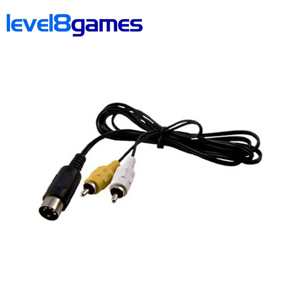 6ft Av Audio Video Composite Cable For Sega Genesis Gen 1