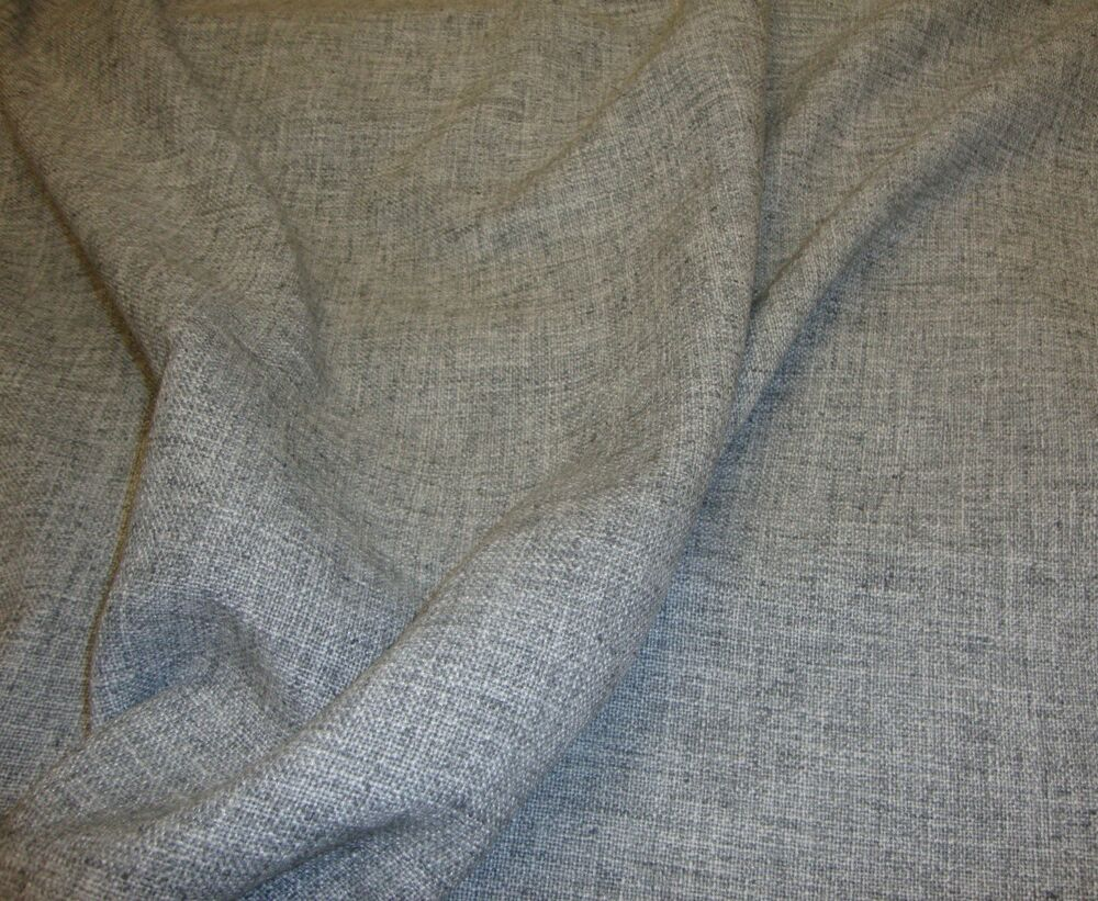 Pumice Linen Poly Blend Upholstery Drapery Fabric By The