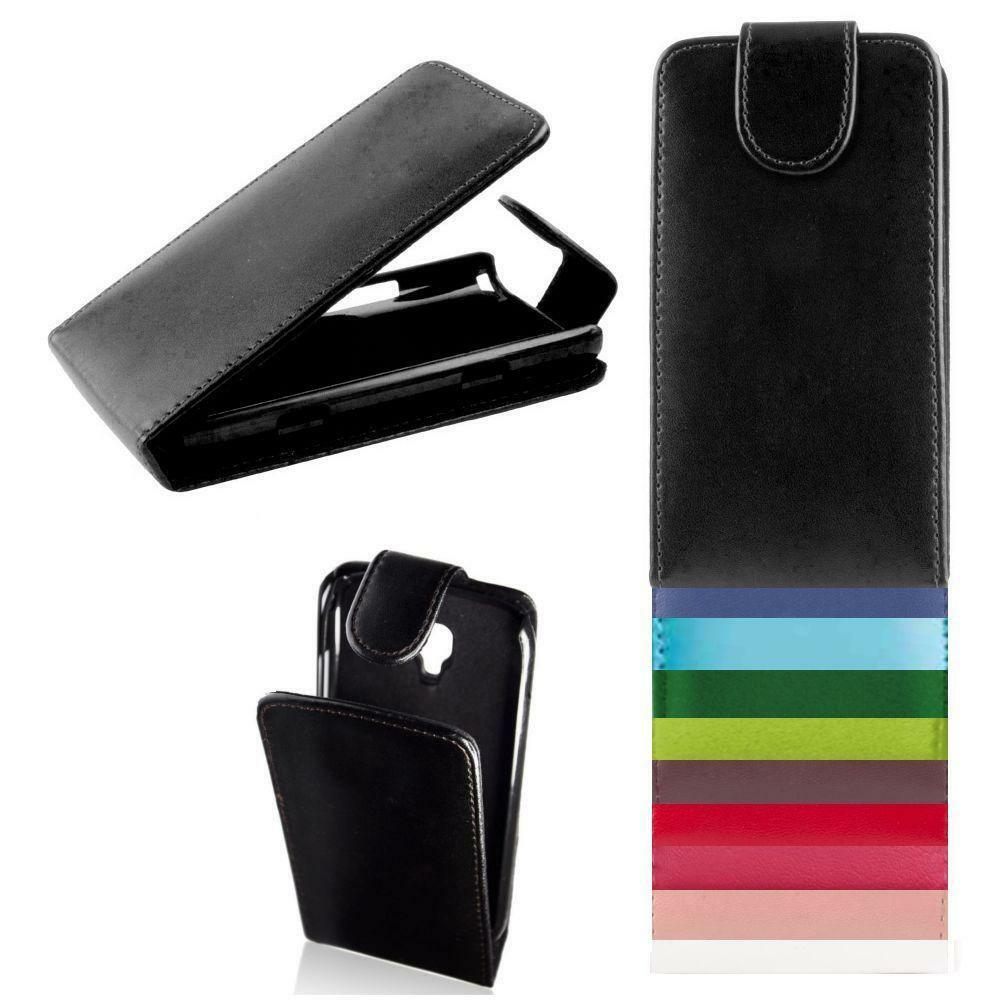 handy tasche f r samsung ver modell flip case etui leder imitat schutzh lle ebay. Black Bedroom Furniture Sets. Home Design Ideas