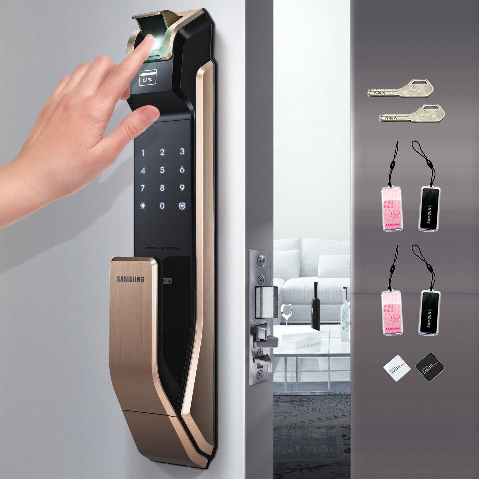 Free Express Samsung Ezon Smart Door Lock Shs P910 8