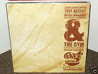"THEE ABSENT / MAGIC MONDAY 12"" OG 2000 UK HIP HOP VINYL CAFE RECORDINGS THE GYM"