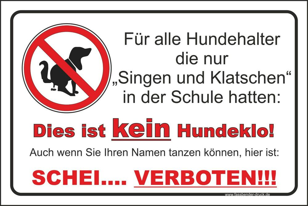 20x30cm privatgrundst ck aufkleber schild kein hundeklo hund hundekot singen t07 ebay. Black Bedroom Furniture Sets. Home Design Ideas