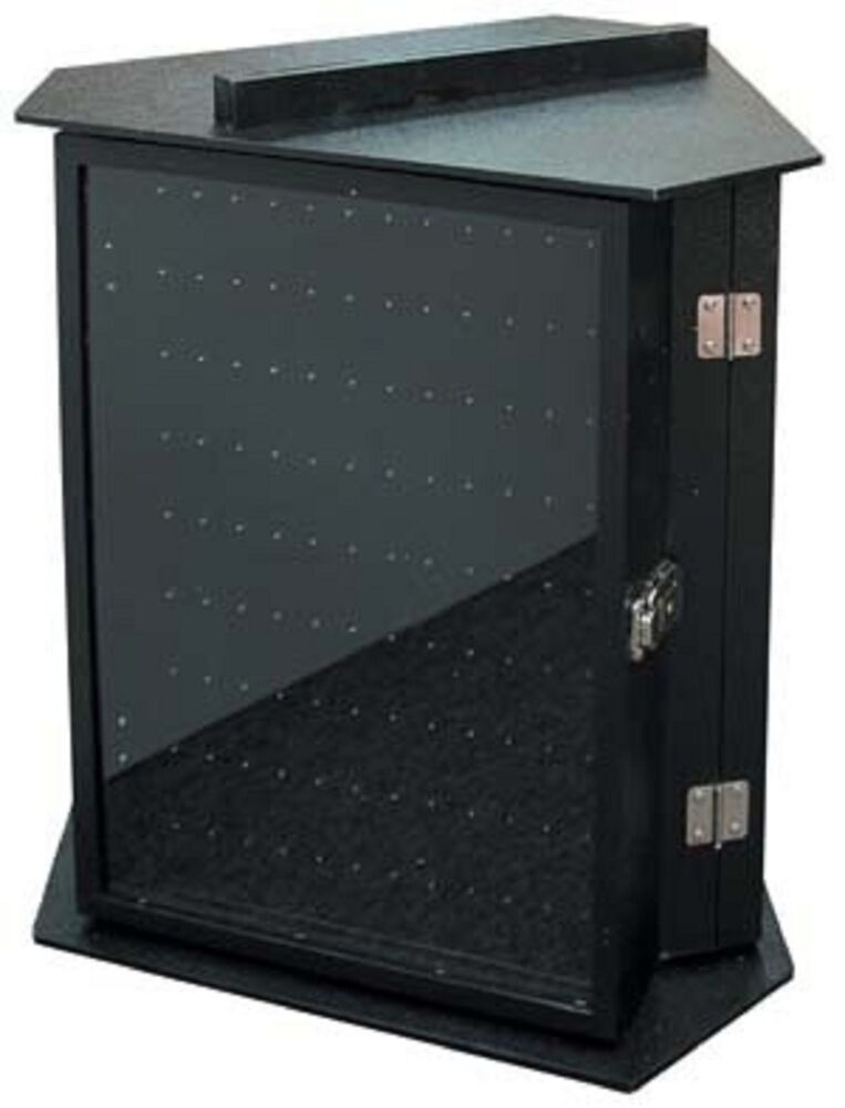 Locking Countertop 3 Sided Rotating Body Jewelry Display Holds 324 pcs ...