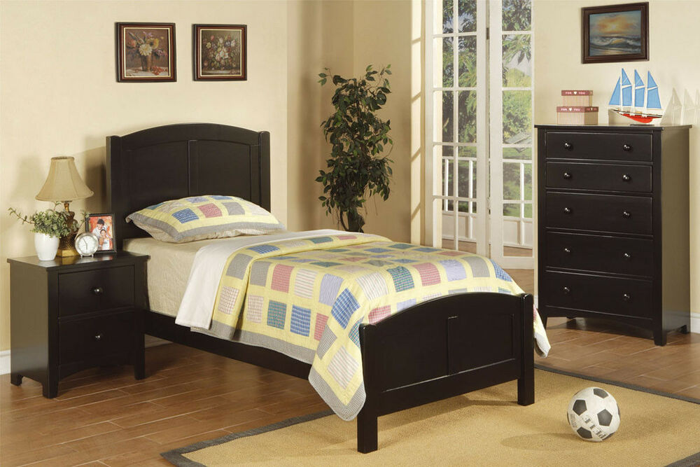 ... Bedroom set in 4 Colors Twin Bed Frame 3 Pcs Bedroom furniture set
