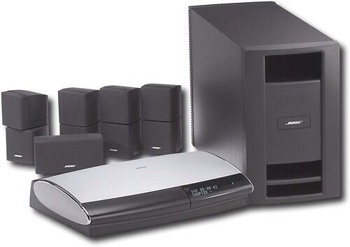 bose lifestyle 28 series iii 5 1 channel home theater system ebay. Black Bedroom Furniture Sets. Home Design Ideas