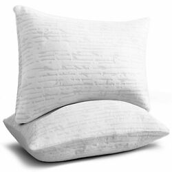 Kyпить Bamboo Shredded Memory Foam Pillow Hypoallergenic Washable Cover King or Queen  на еВаy.соm