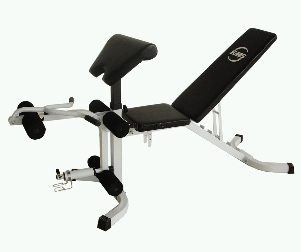 Weights Bench Multi Home Gym Equipment Dumbell Workout Abs: FoxHunter Fitness Weight Bench Sit Up Abs Abdominal Bicep