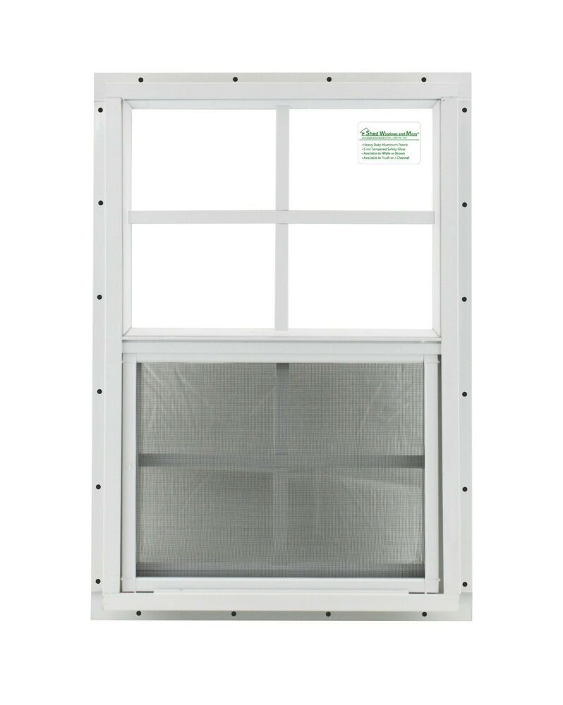 Shed window chicken coop playhouse 14x21 white j chan for 14x27 window
