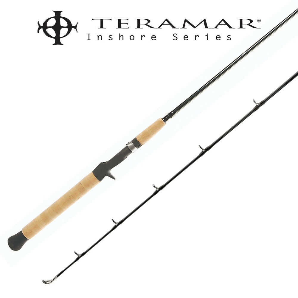 Shimano teramar se inshore casting rod tmc76mh 7 39 6 medium for Heavy fishing rod