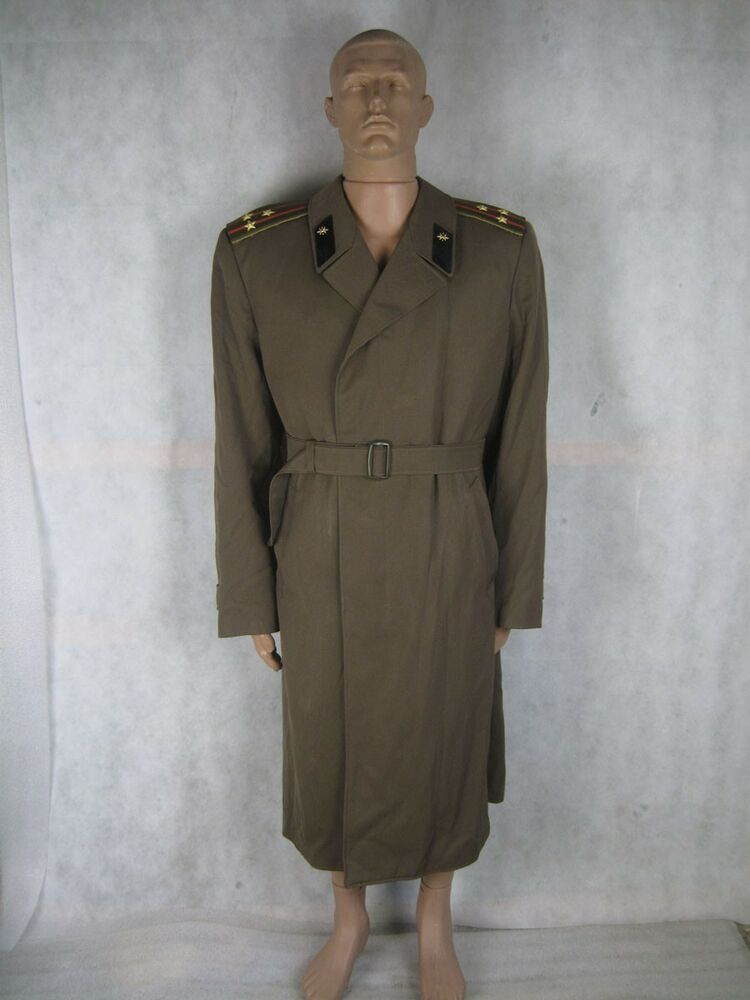 WWII SOVIET RUSSIAN MILITARY SOLDIER UNIFORM CLOAK ...