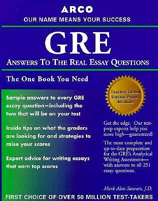 answer cat essay gre question real