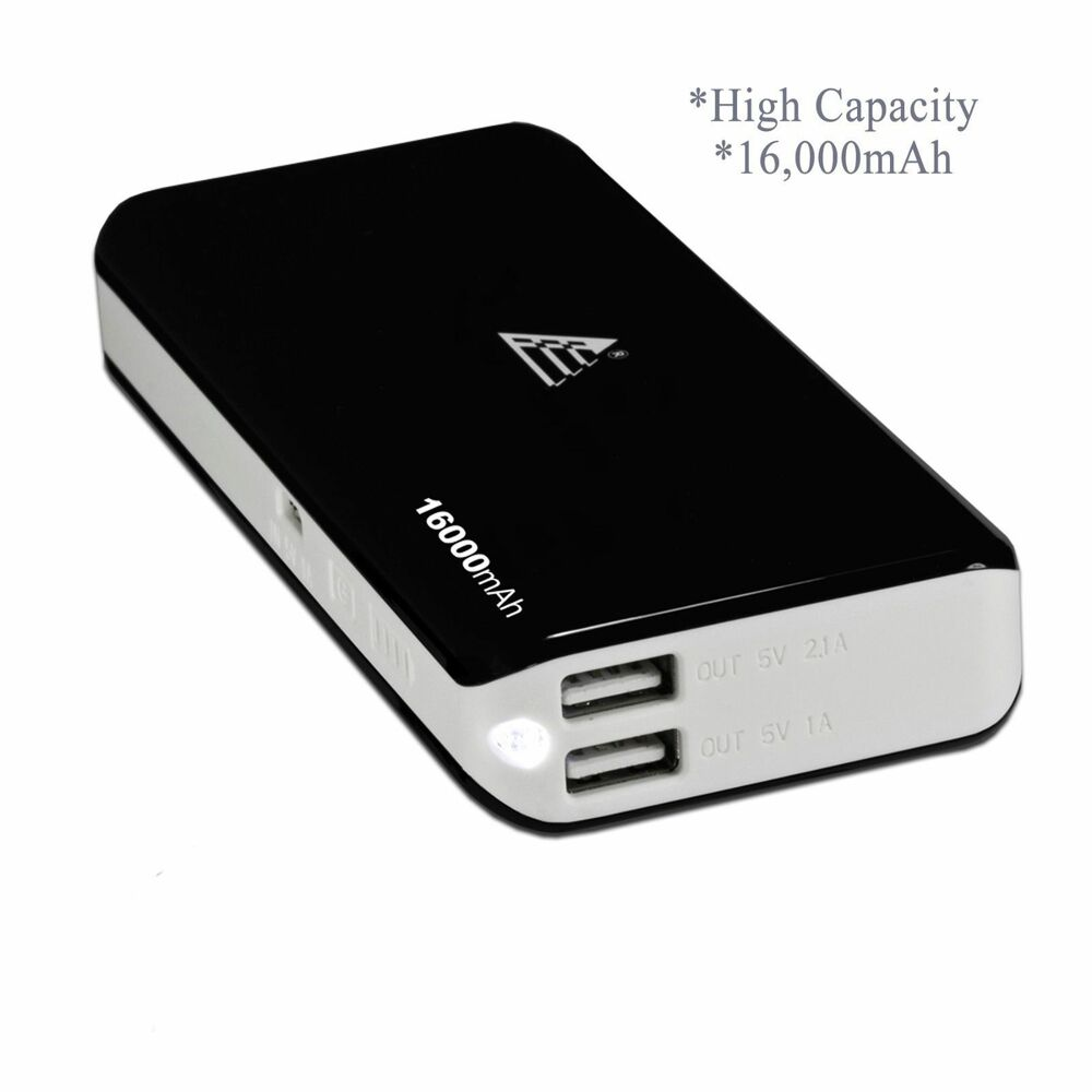 16000mah portable external battery charger power bank. Black Bedroom Furniture Sets. Home Design Ideas