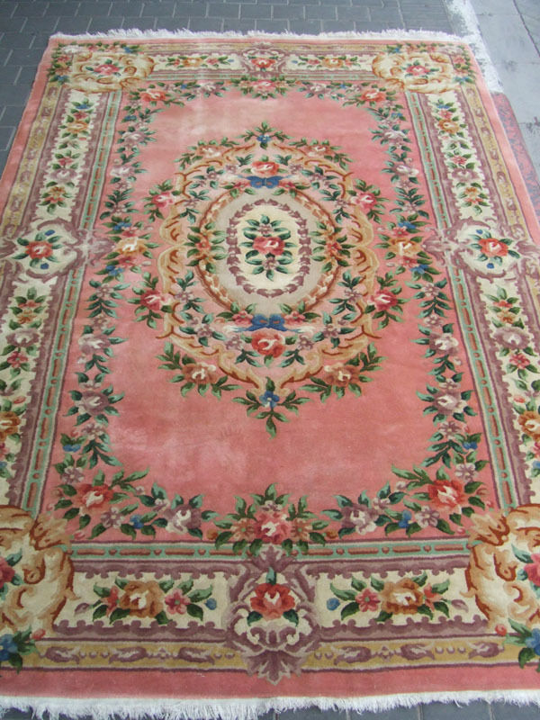 Beautiful Hand Woven Art Deco Chinese Antiques Carpet Rug