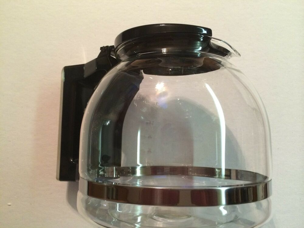 Glass Coffee Maker Drip : 12-Cup Automatic Drip Coffee Maker GLASS CARAFE, Saeco PARTS # 1010STGLCA eBay