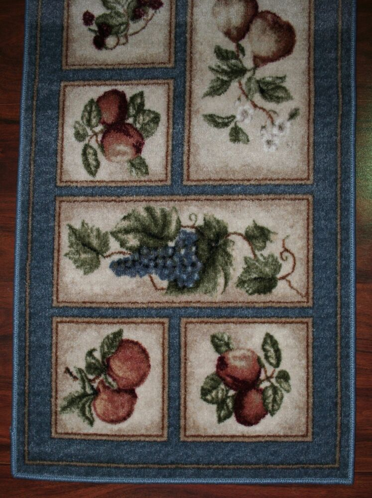 Kitchen rugs on shoppinder for Kitchen rugs with fruit design