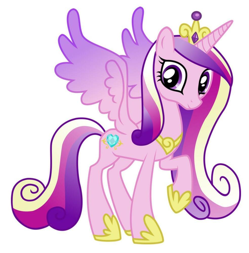 Princess cadence my little pony iron on transfer 5 x5 for - Princesse poney ...