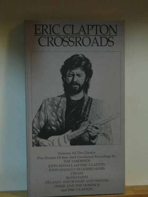 Oop Rare Divination Tarot Cards Unused Sealed Deck By: ERIC CLAPTON CROSSROADS RARE OOP 4CD BOX
