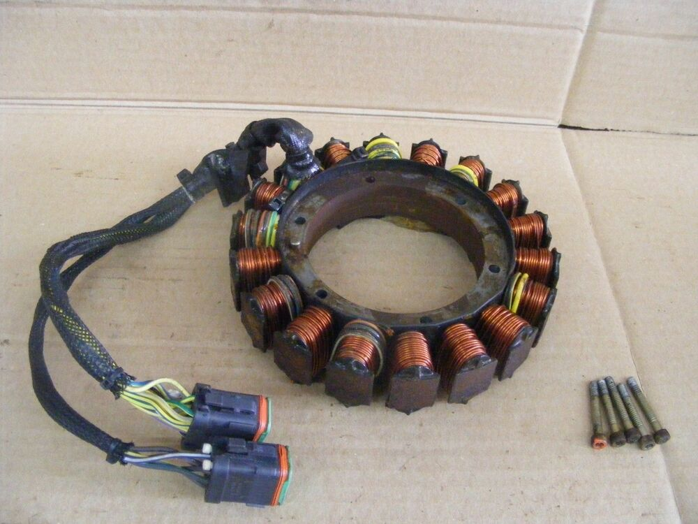 Johnson evinrude 90 100 115 135 150 175 hp stator 586514 for Used 175 hp outboard motors for sale