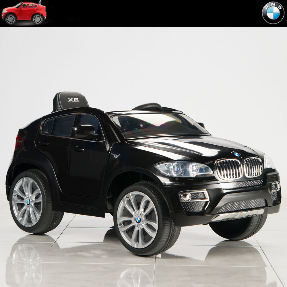 Bmw X6 S: 12V BMW X6 Ride On Car Kids Electric Power Wheels W/ RC