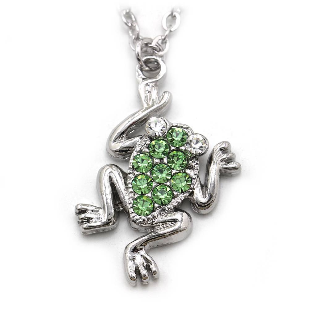 green frog froggy animal charm anklet ankle bracelet chain