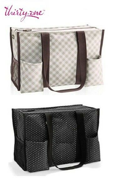 31 Best Graduation Day Hair Beauty Tips For The Female: New 31 Zip Top Utility Tote Shoulder Bag Thirty One