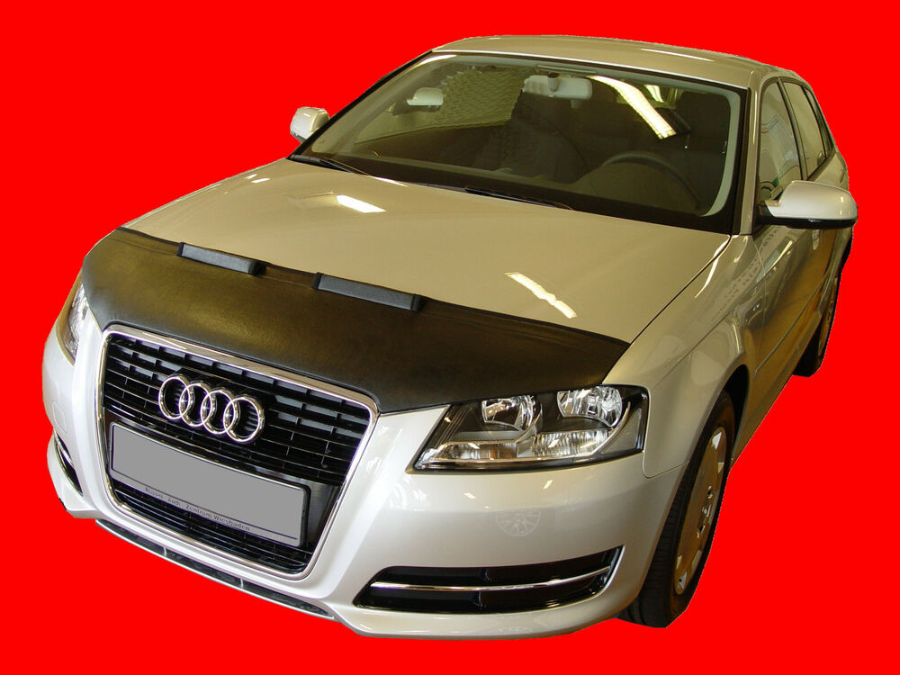 audi a3 8p 2009 2012 custom car hood bra nose front end mask ebay. Black Bedroom Furniture Sets. Home Design Ideas
