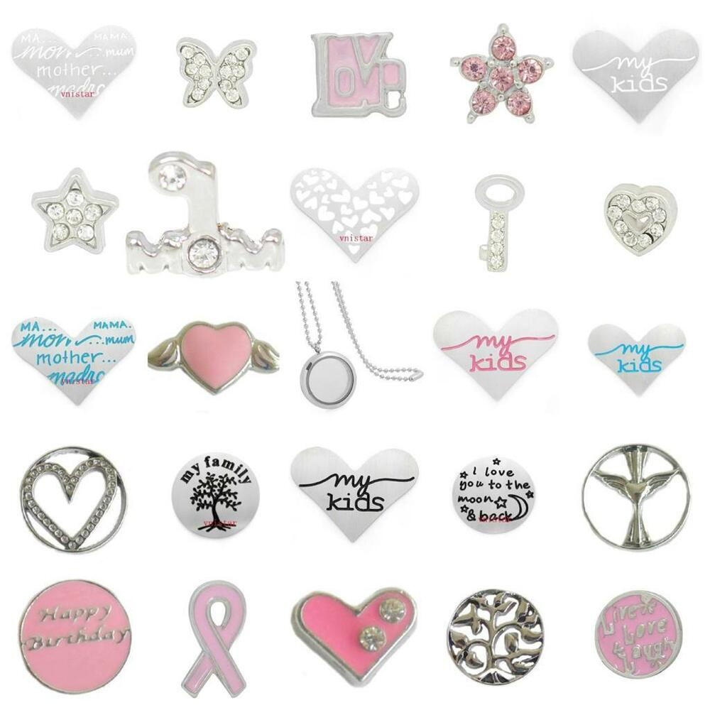 Floating Charms Family Friend For Living Memory Lockets