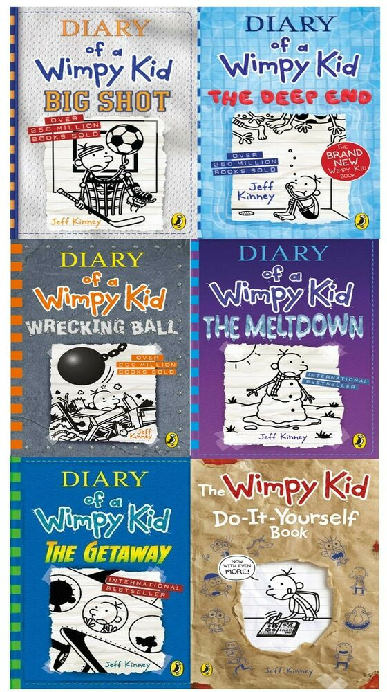 Big Nate Series Collection Lincoln Peirce 6 Books Box Set