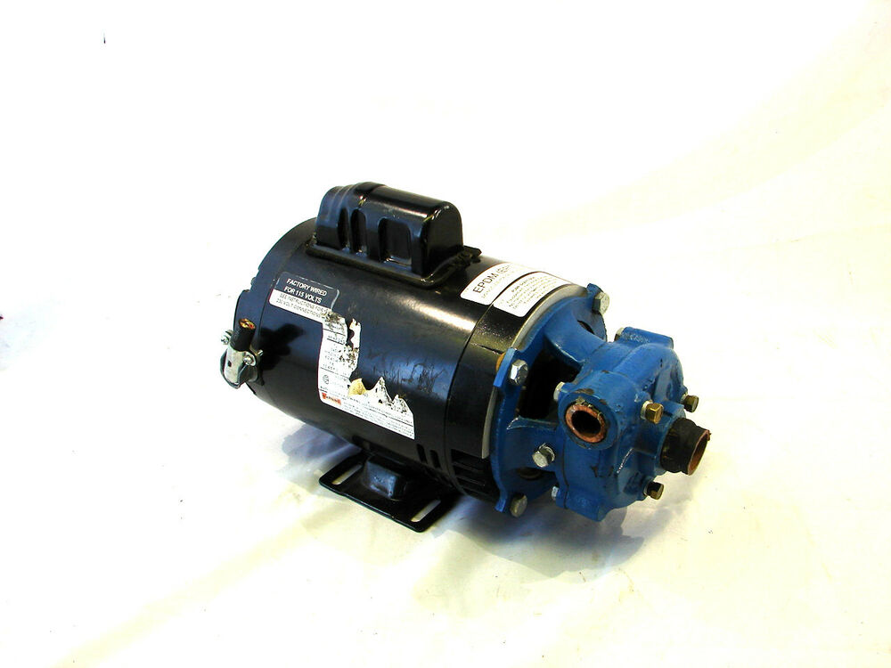 Scot model 69 pump with emerson 1 2 hp motor xlt ebay for 1 2 hp motor