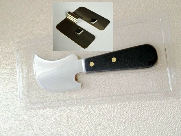 Window Spatula Quarter Moon Trimmer Flooring Knife Sledge