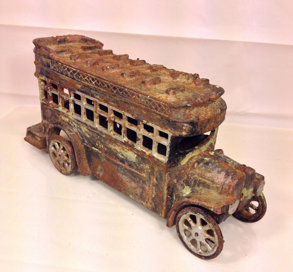 Antique Cast Iron Double Decker Bus  Ebay. Keystone Granite. Smallest Toilet. Wardrobes. Bedroom Benches. Shabby Chic Living Room. Deck Over Reviews. Bunk Beds For Teenagers. Hanging Lights
